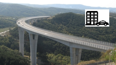 Slovenia Highway Viaduct